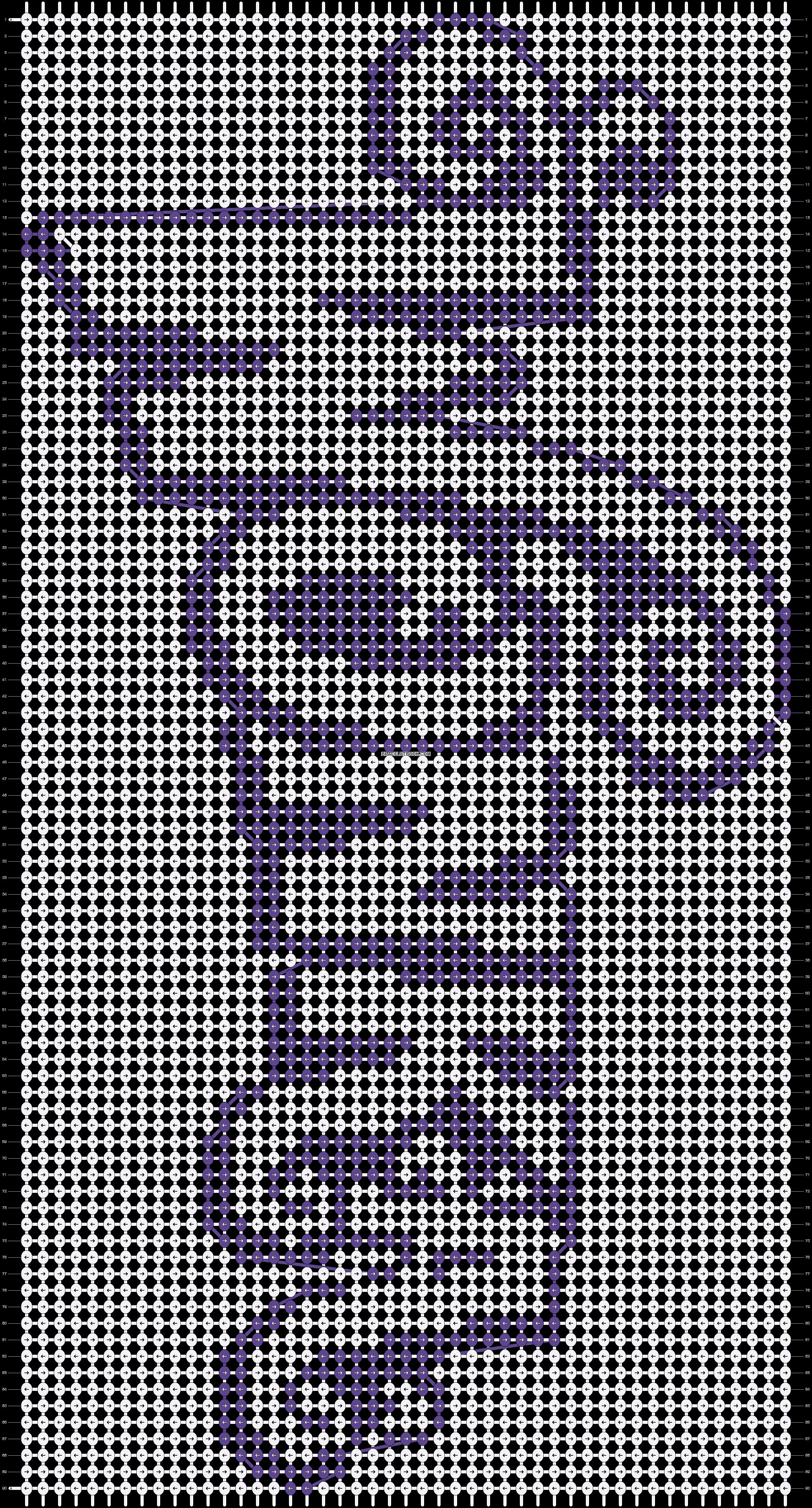 Alpha pattern #13426 pattern