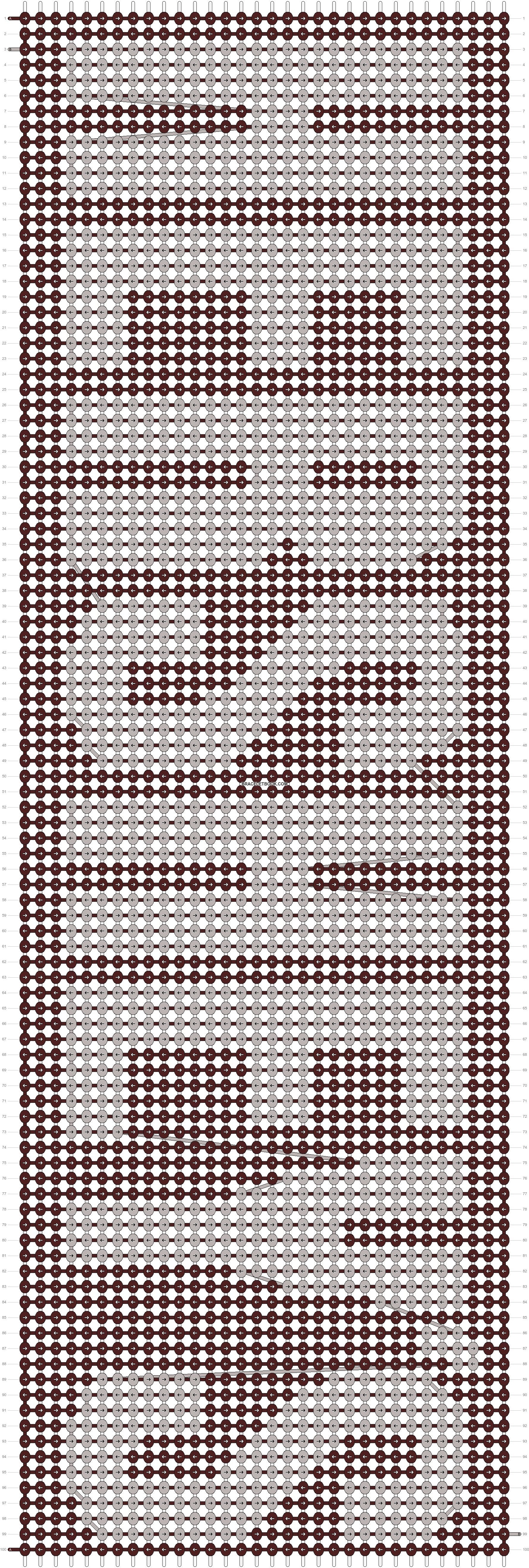 Alpha pattern #13428 pattern