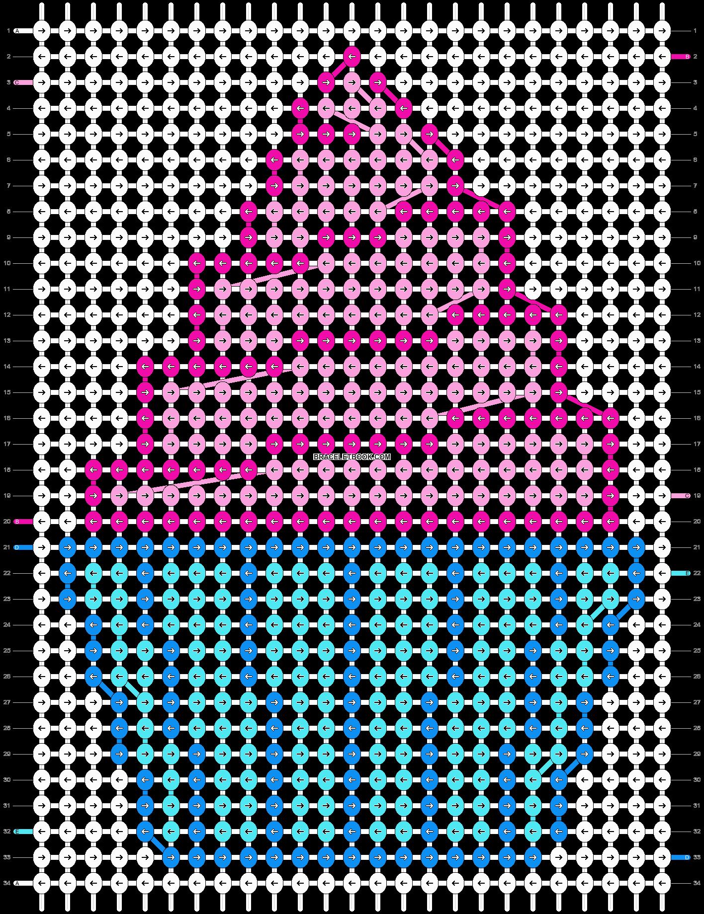 Alpha pattern #13433 pattern