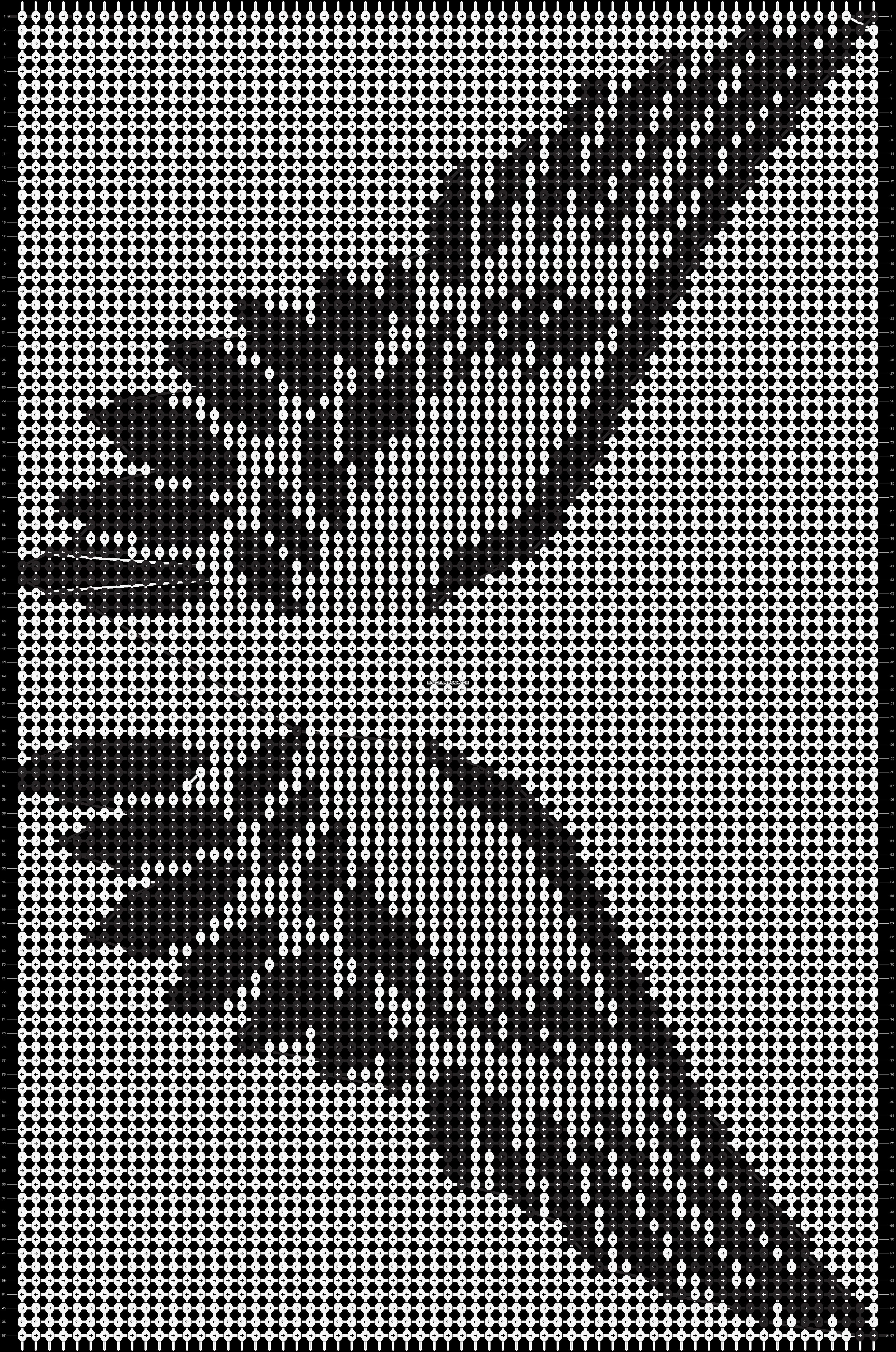 Alpha pattern #13439 pattern