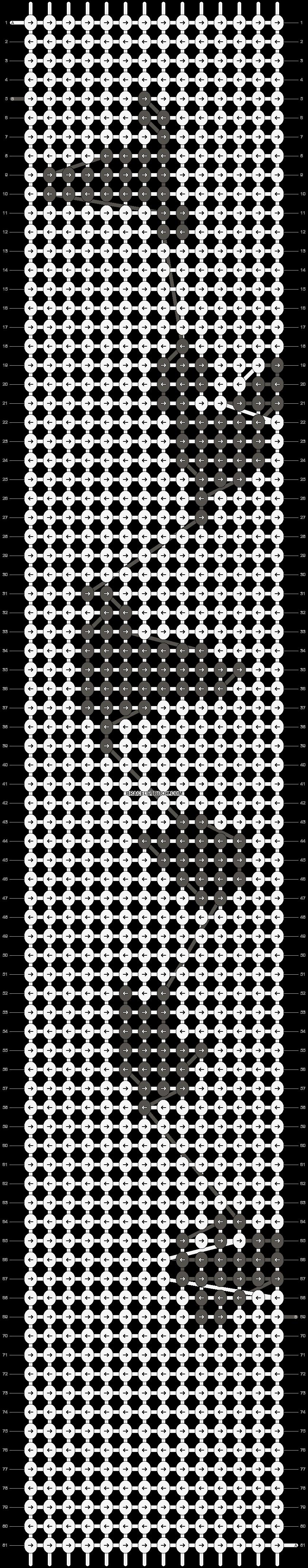 Alpha pattern #13440 pattern