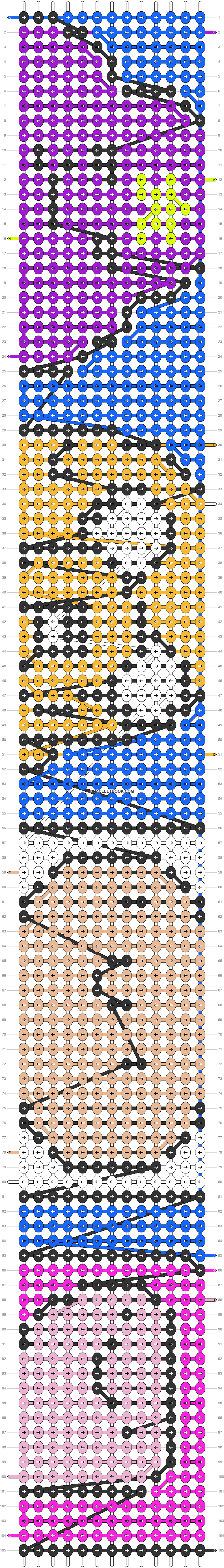 Alpha pattern #13442 pattern
