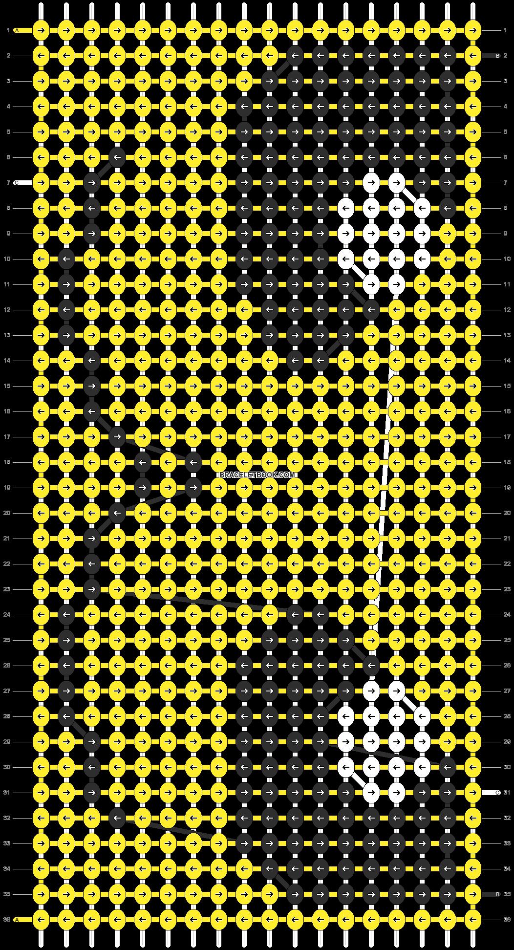 Alpha pattern #13446 pattern