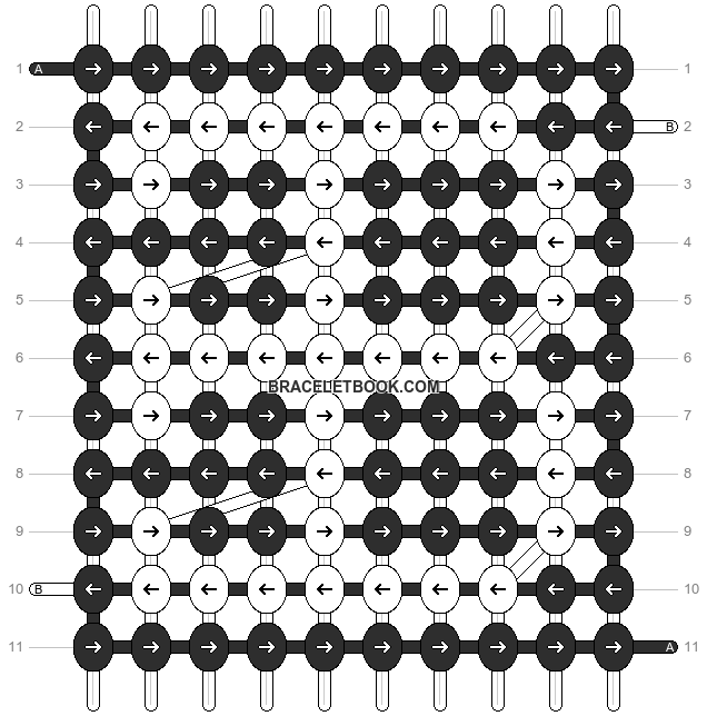 Alpha pattern #13449 pattern