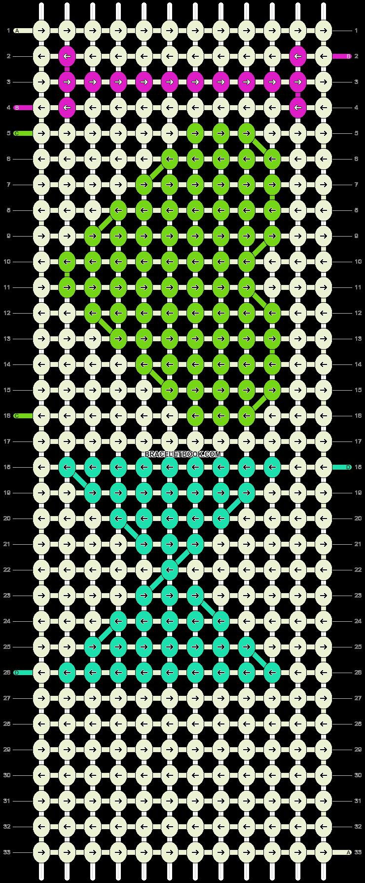 Alpha pattern #13451 pattern