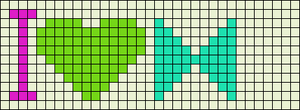 Alpha pattern #13451