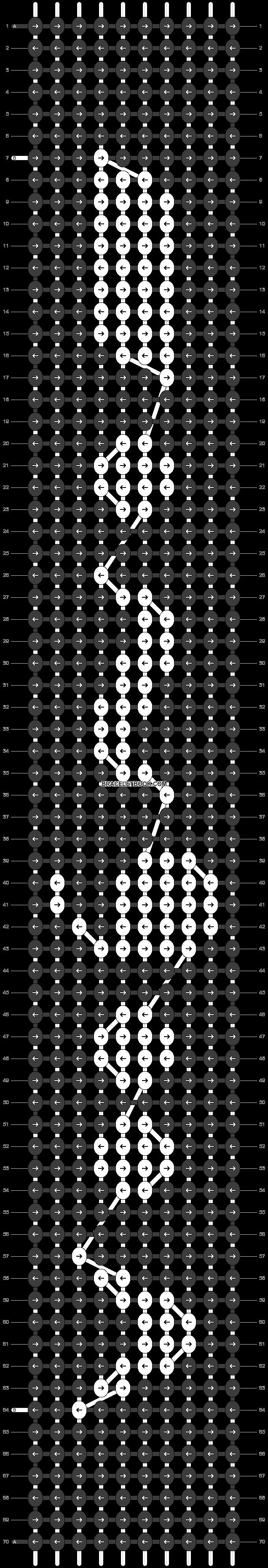 Alpha pattern #13452 pattern