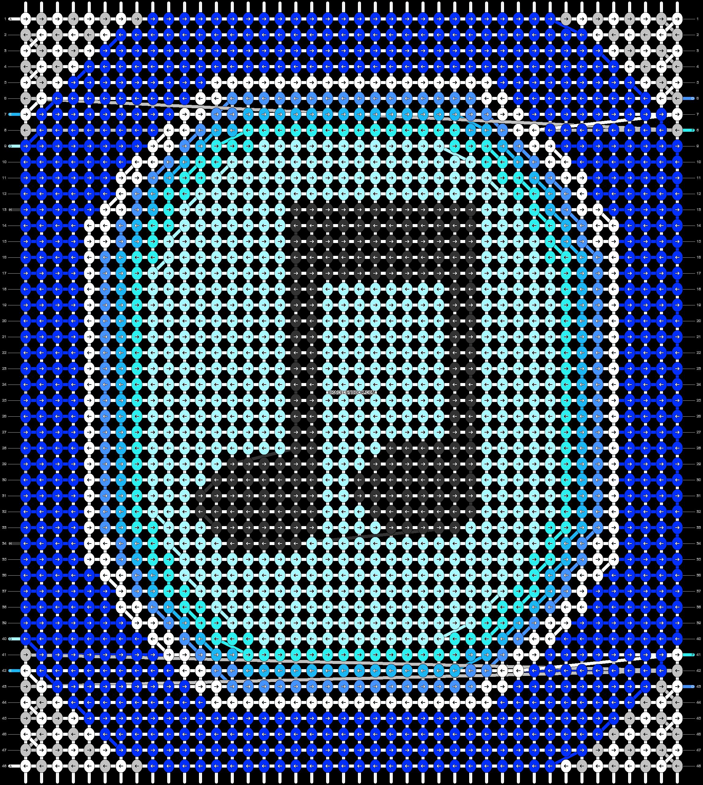 Alpha pattern #13456 pattern