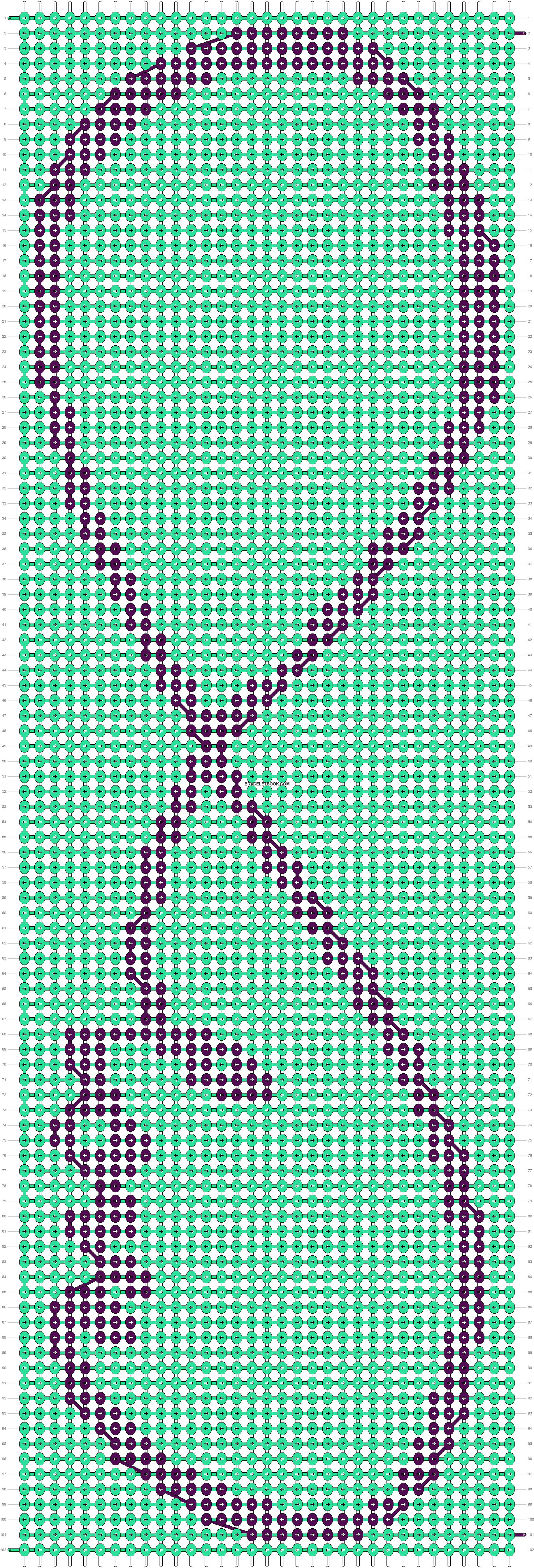 Alpha pattern #13461 pattern
