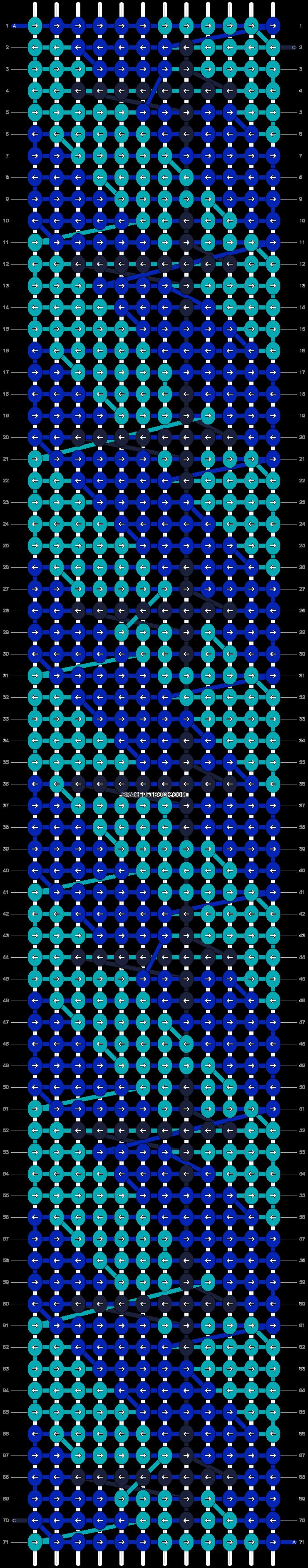 Alpha pattern #13465 pattern