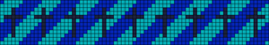 Alpha Friendship Bracelet Pattern #13465