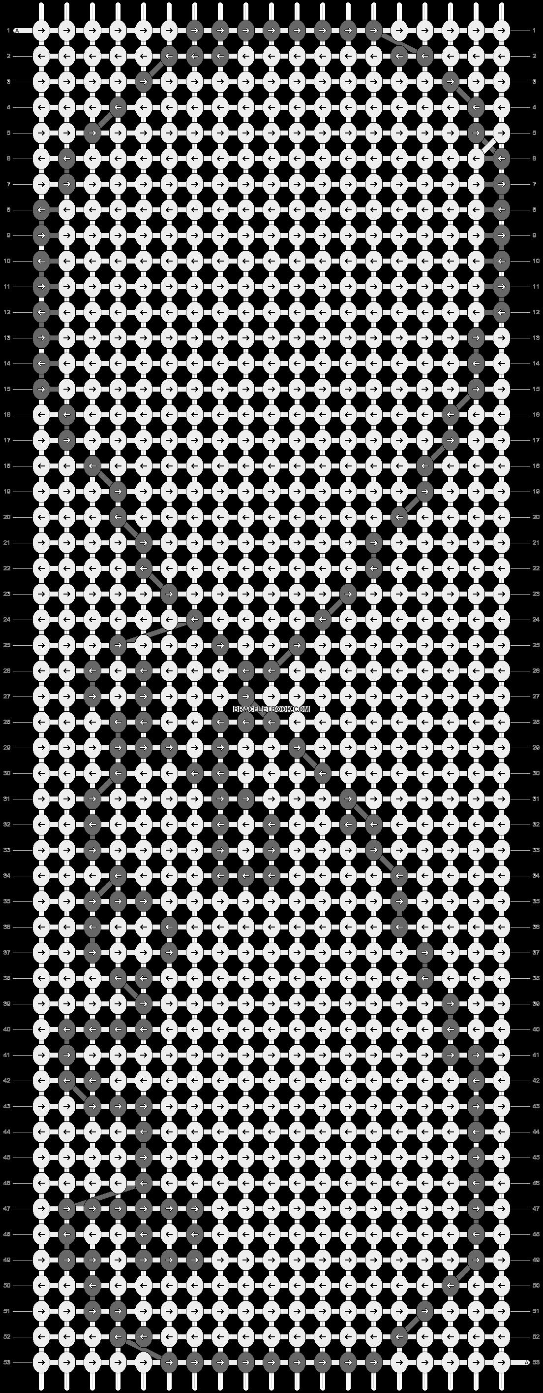 Alpha pattern #13468 pattern