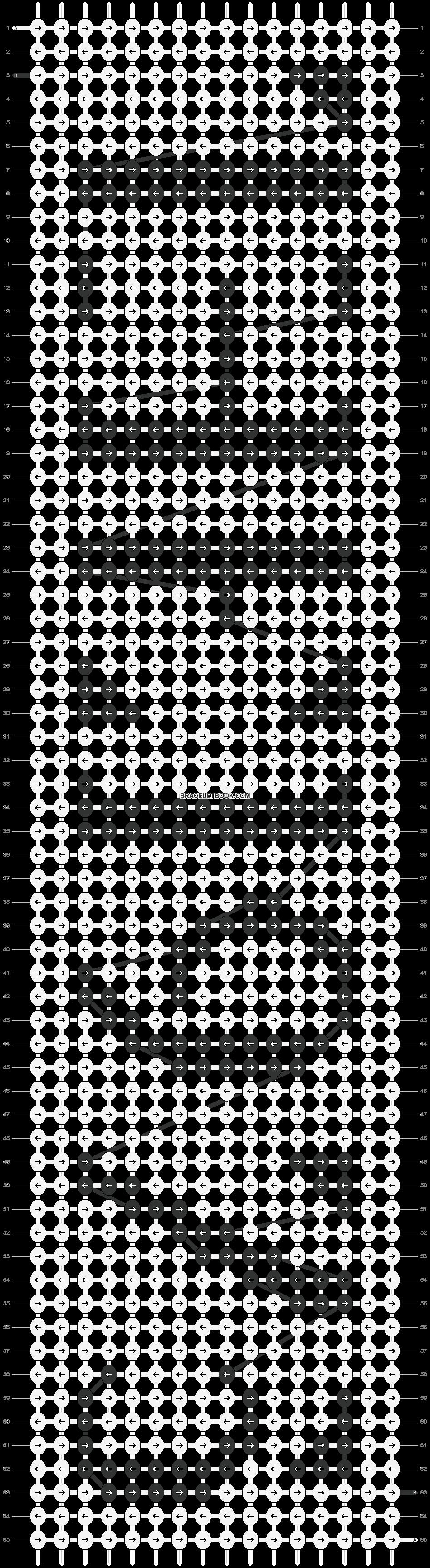 Alpha pattern #13469 pattern