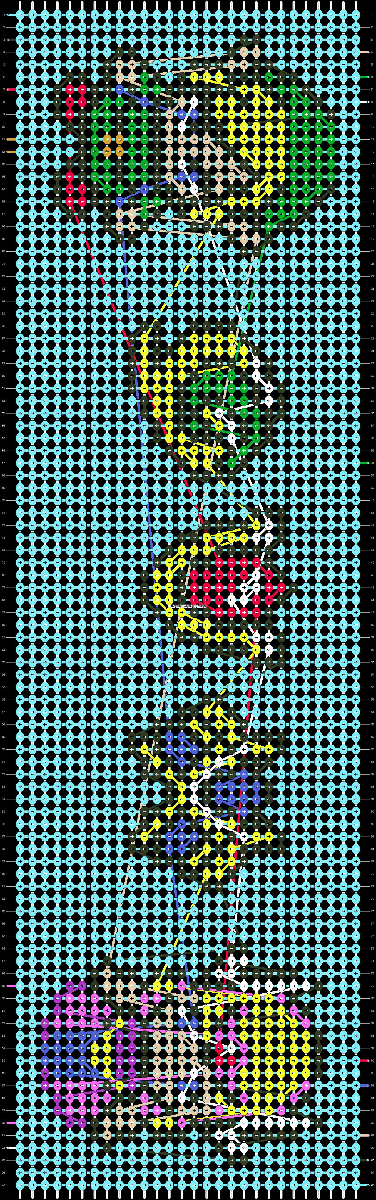 Alpha pattern #13470 pattern