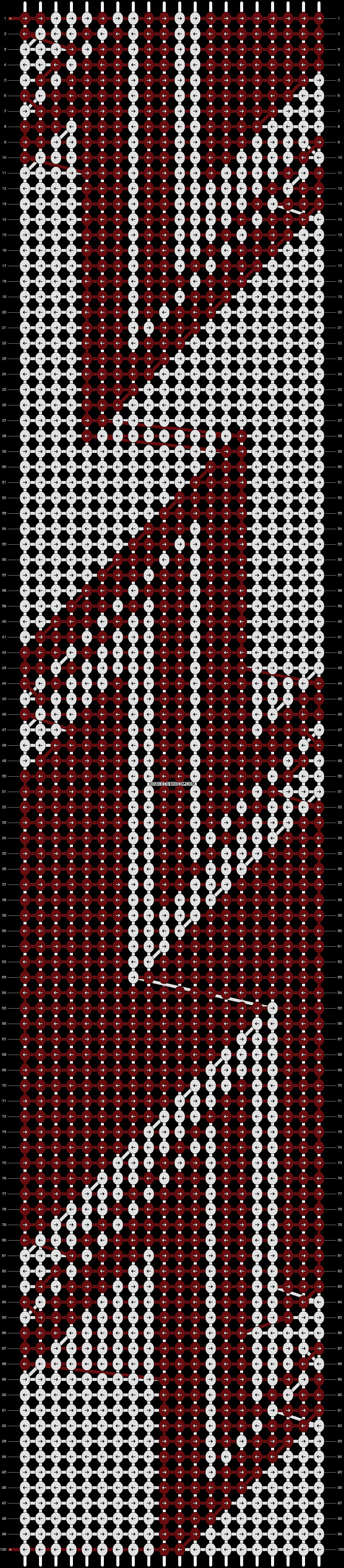 Alpha pattern #13471 pattern