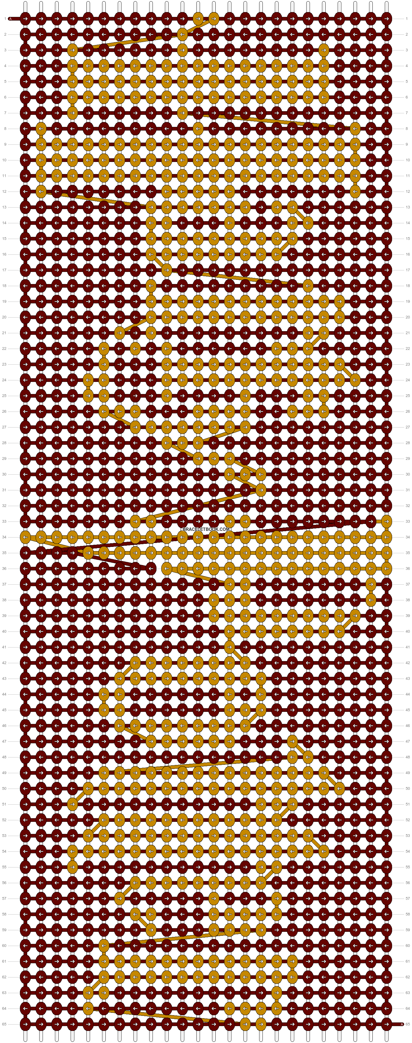 Alpha pattern #13482 pattern