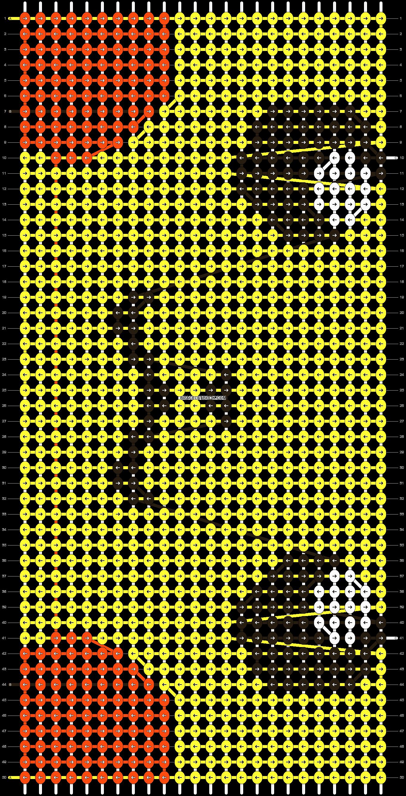 Alpha pattern #13484 pattern