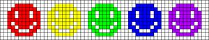 Alpha Friendship Bracelet Pattern #13491