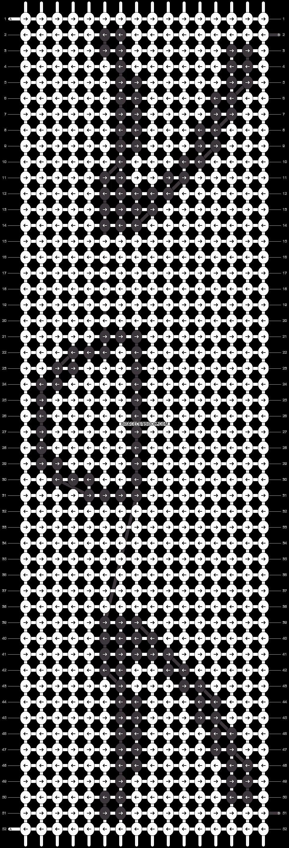 Alpha pattern #13492 pattern