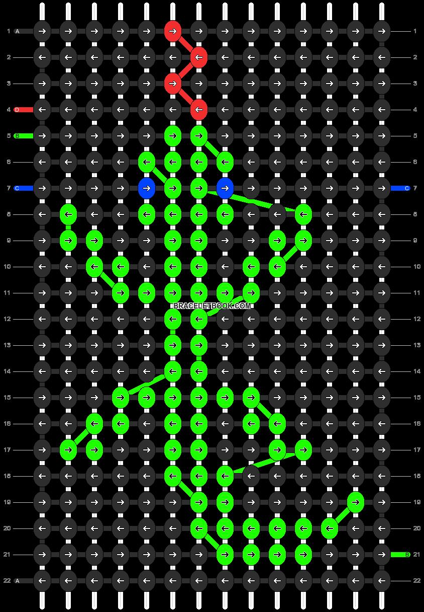 Alpha pattern #13494 pattern
