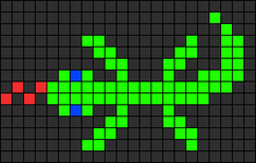 Alpha pattern #13494