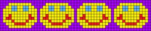 Alpha Friendship Bracelet Pattern #13495