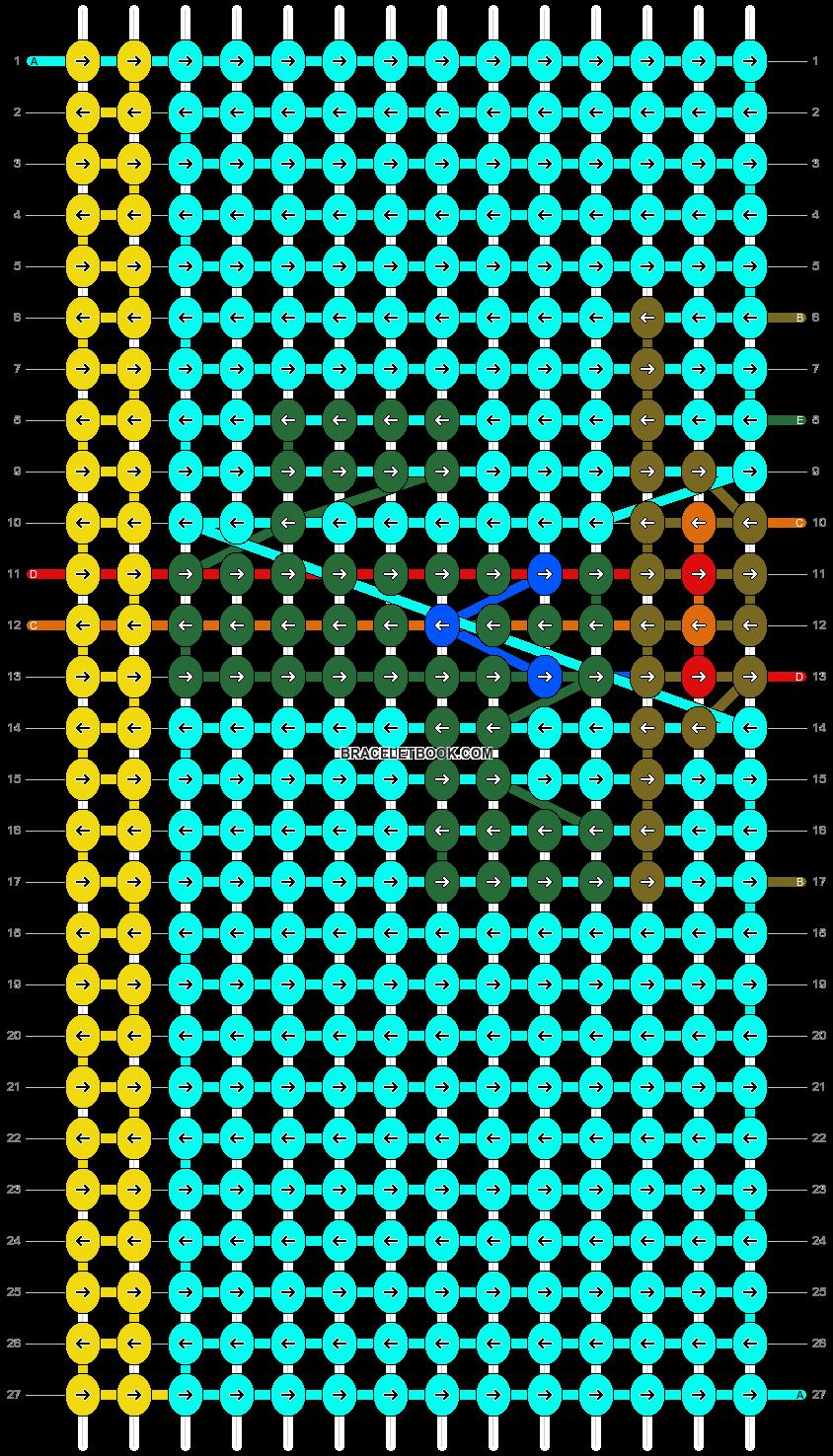 Alpha pattern #13498 pattern