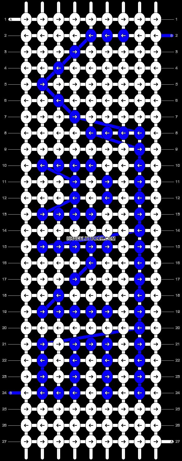 Alpha pattern #13502 pattern