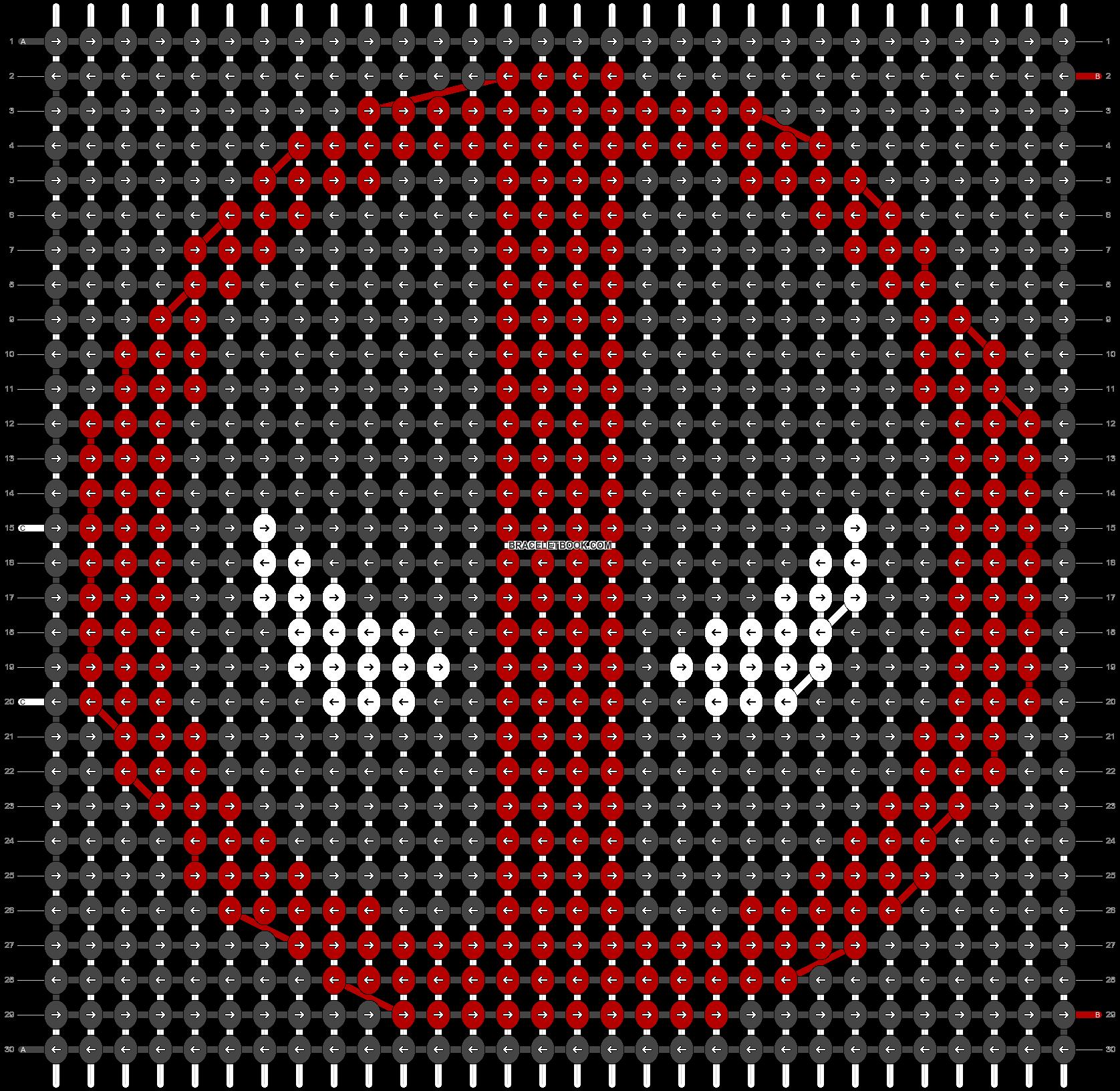 Alpha pattern #13507 pattern