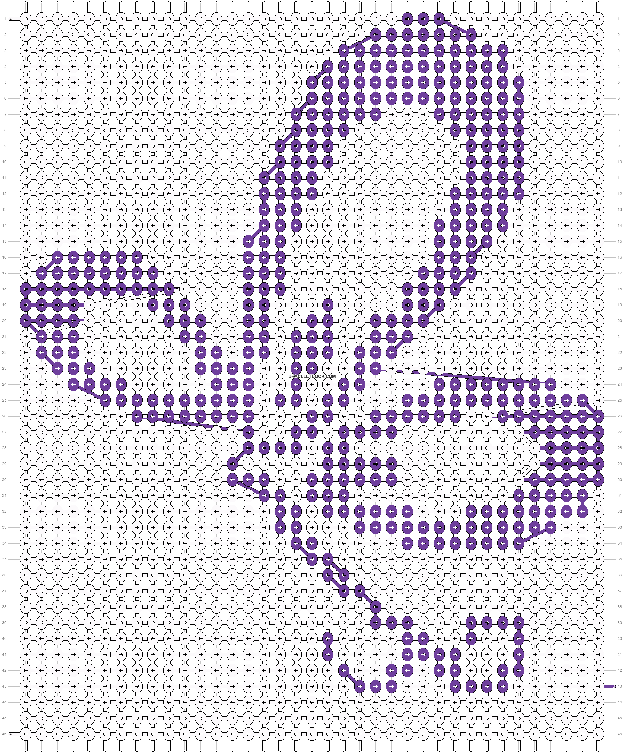 Alpha pattern #13508 pattern