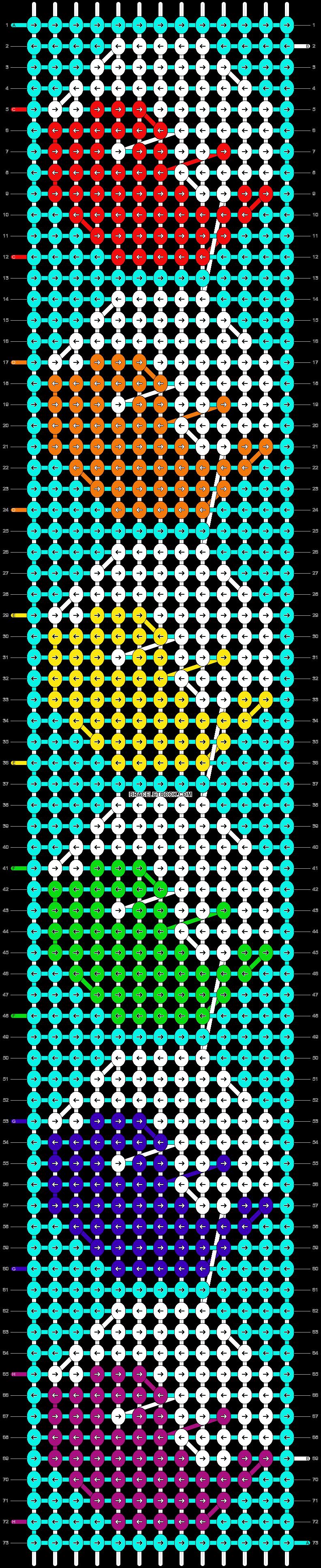 Alpha pattern #13509 pattern