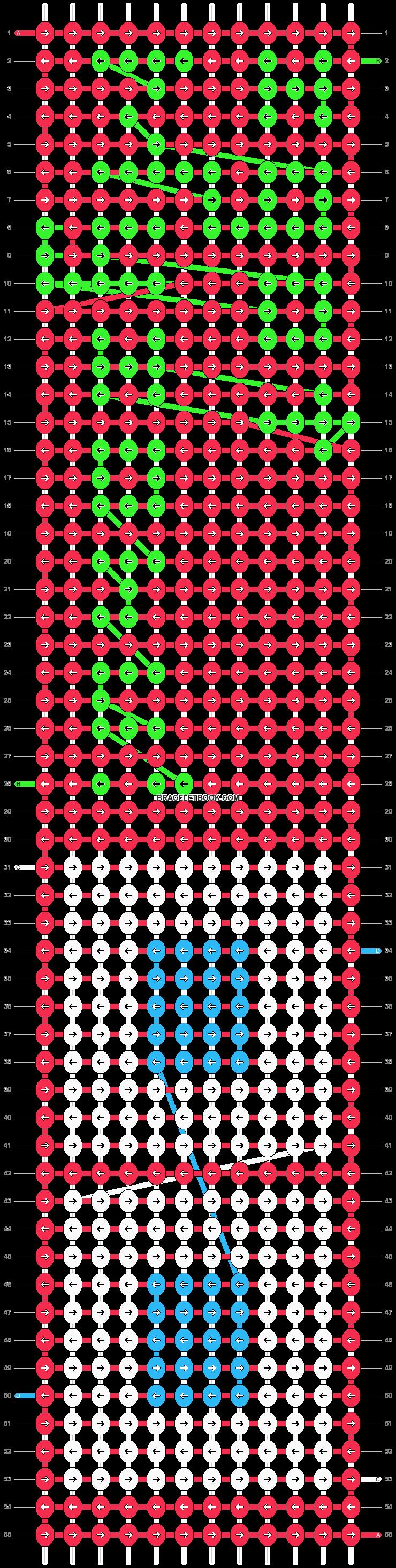 Alpha pattern #13513 pattern