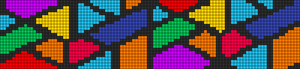 Alpha pattern #13517