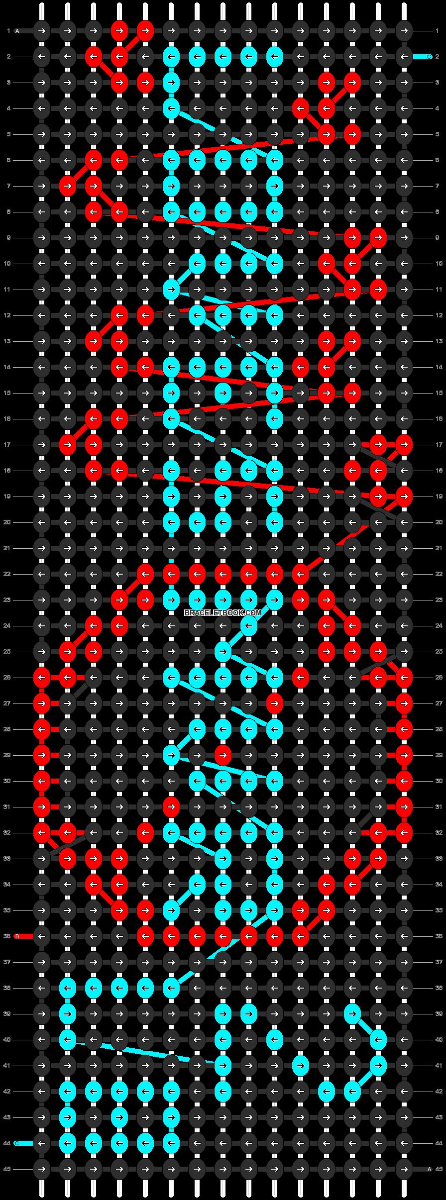 Alpha pattern #13521 pattern