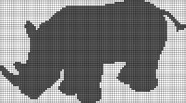 Alpha pattern #13522