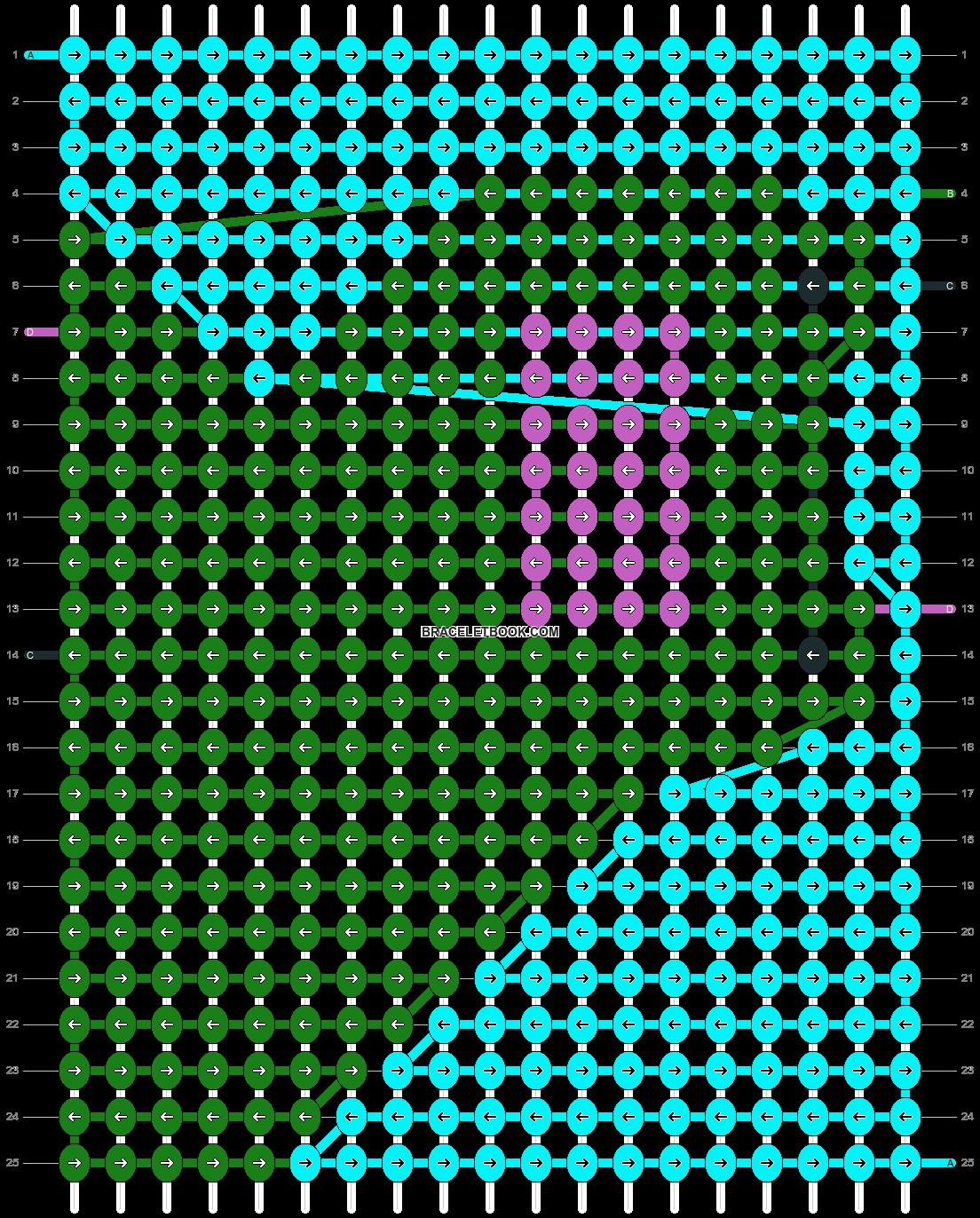Alpha pattern #13524 pattern