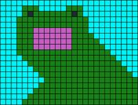 Alpha pattern #13524