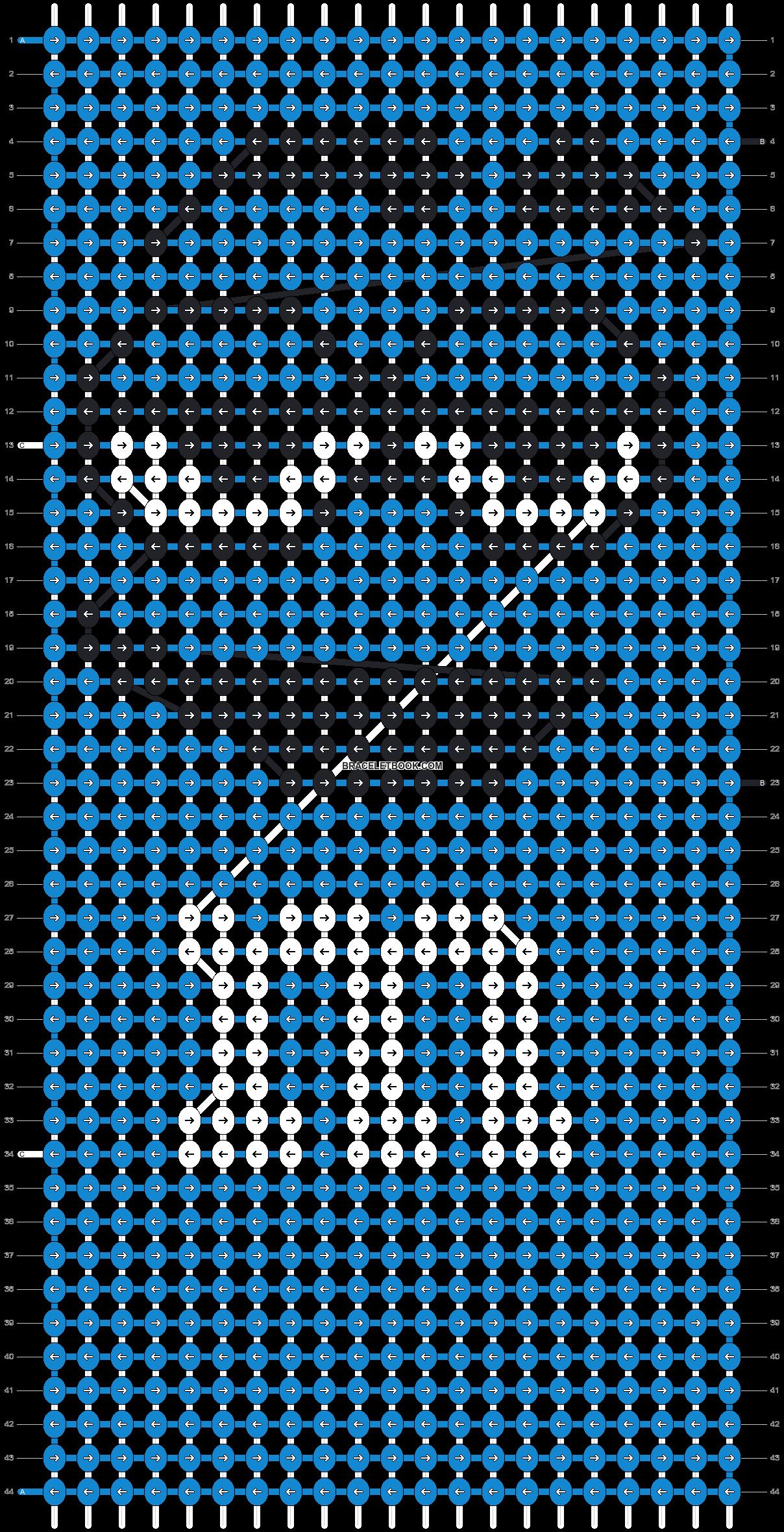 Alpha pattern #13526 pattern