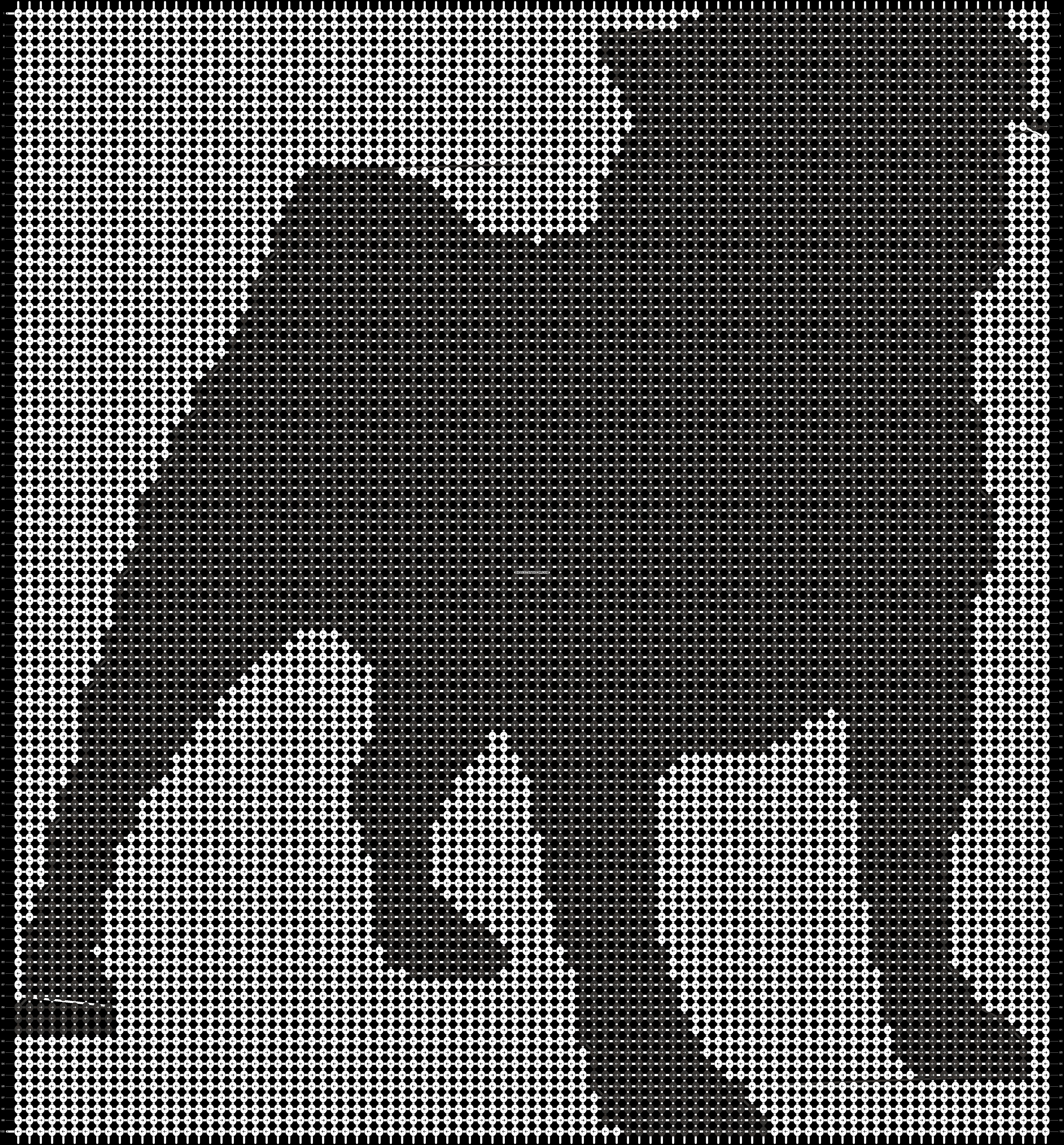 Alpha pattern #13537 pattern
