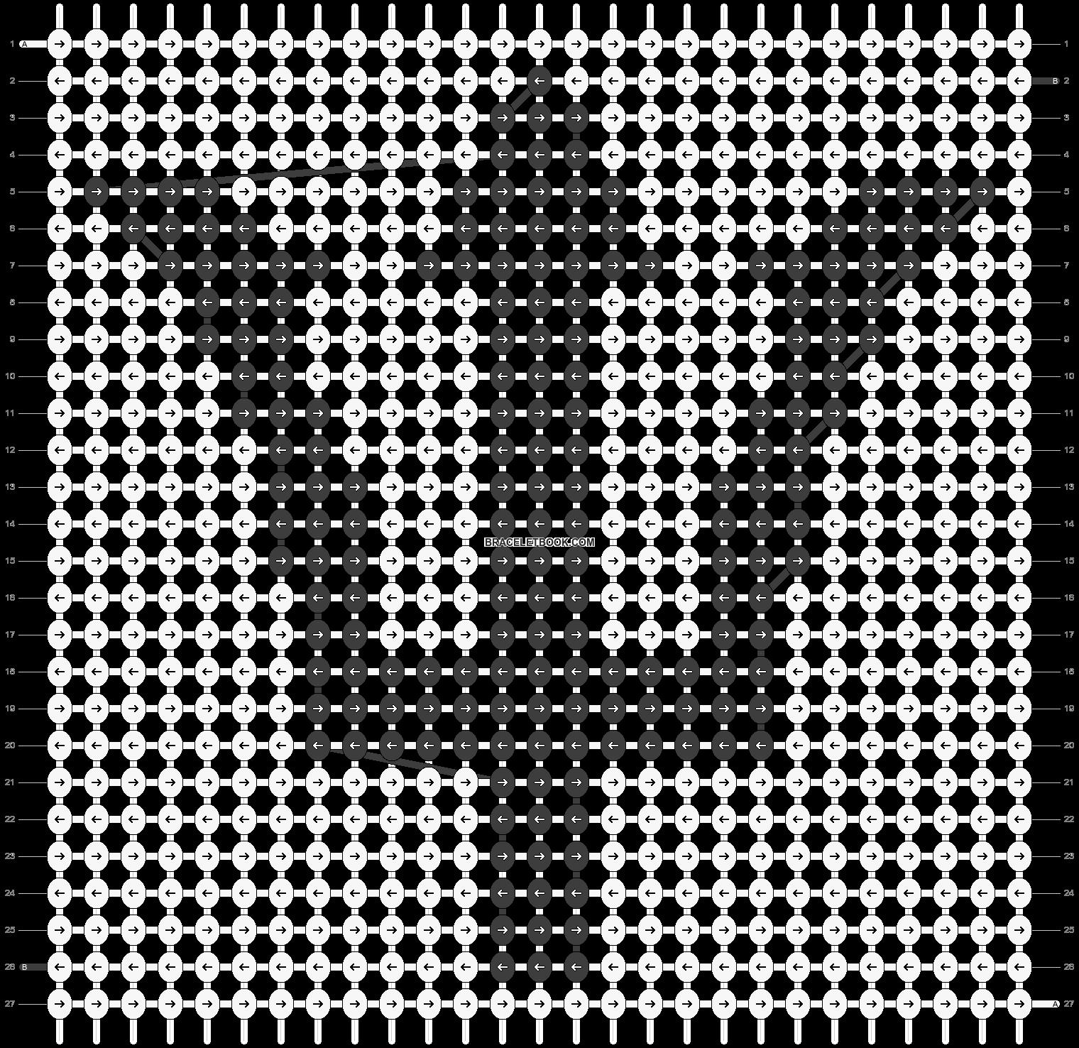 Alpha pattern #13540 pattern