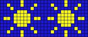 Alpha pattern #13551