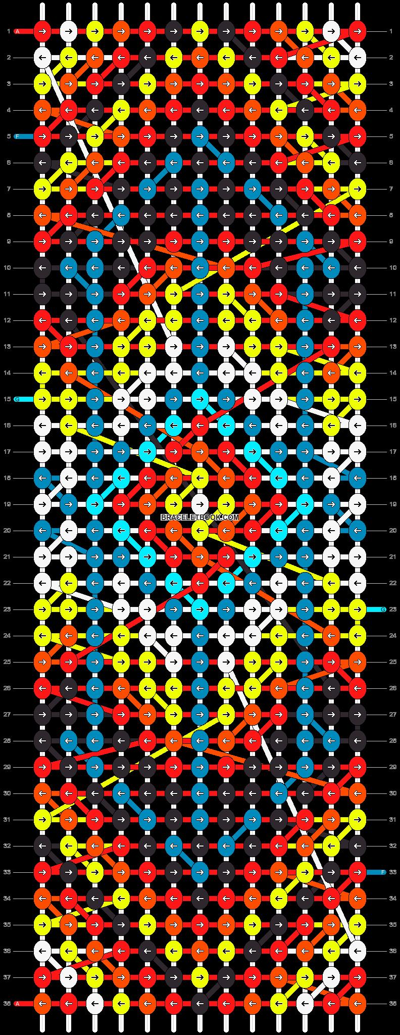 Alpha pattern #13552 pattern