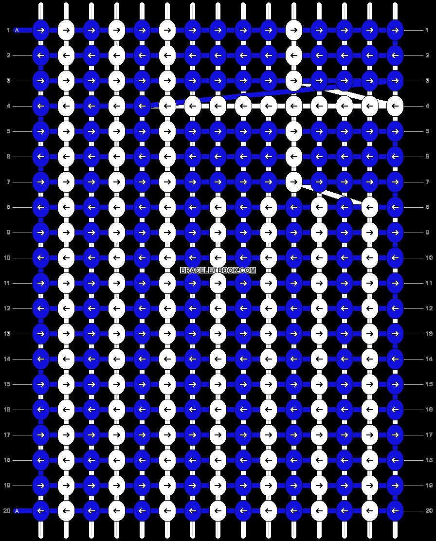 Alpha pattern #13564 pattern