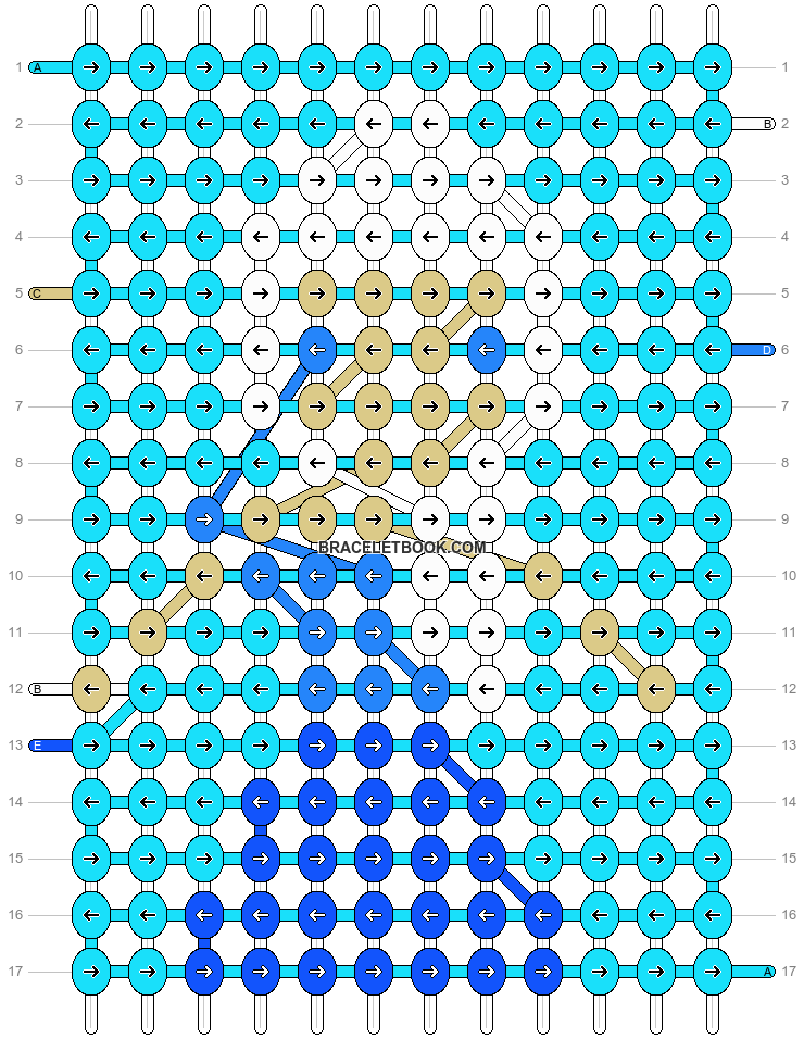 Alpha pattern #13566 pattern