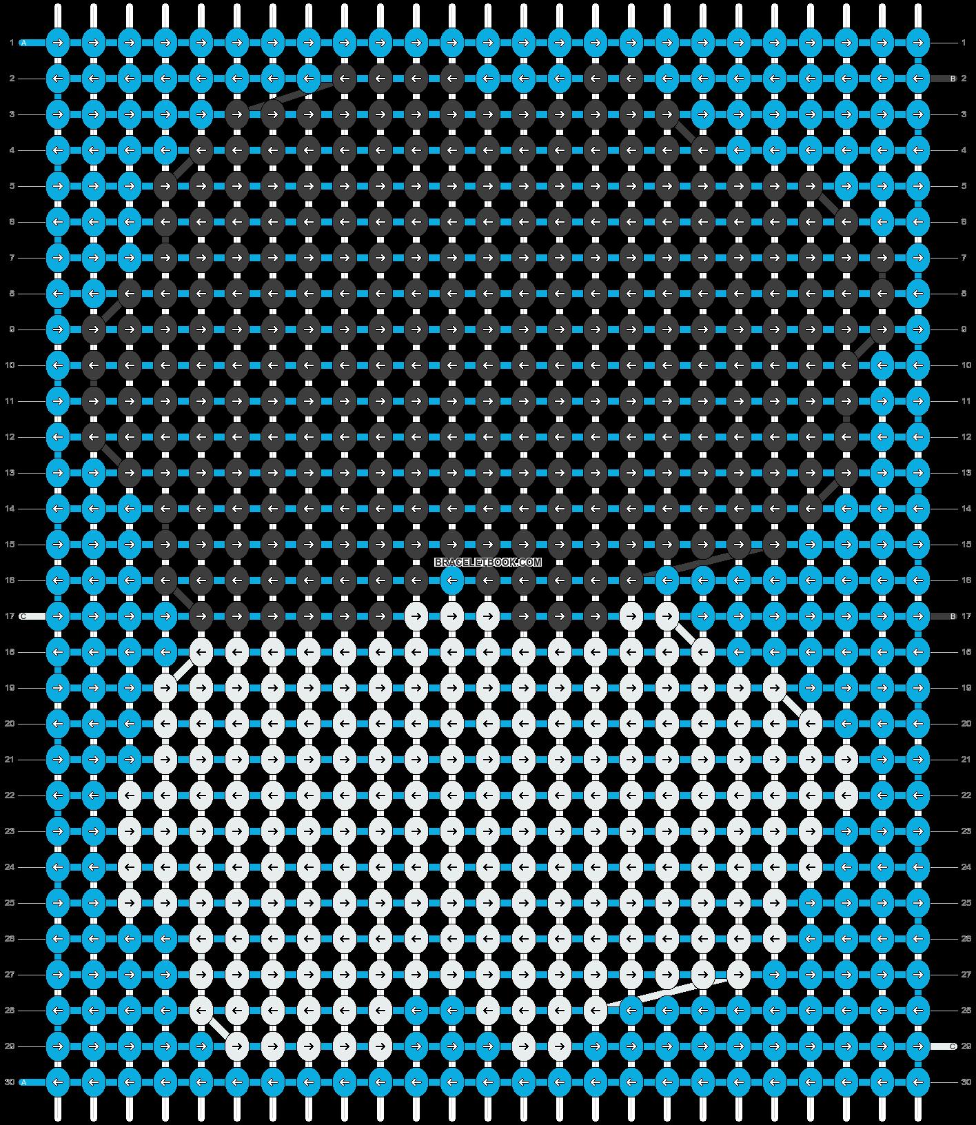 Alpha pattern #13567 pattern