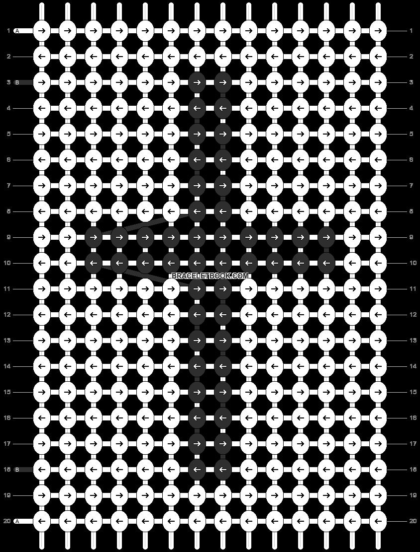 Alpha pattern #13569 pattern