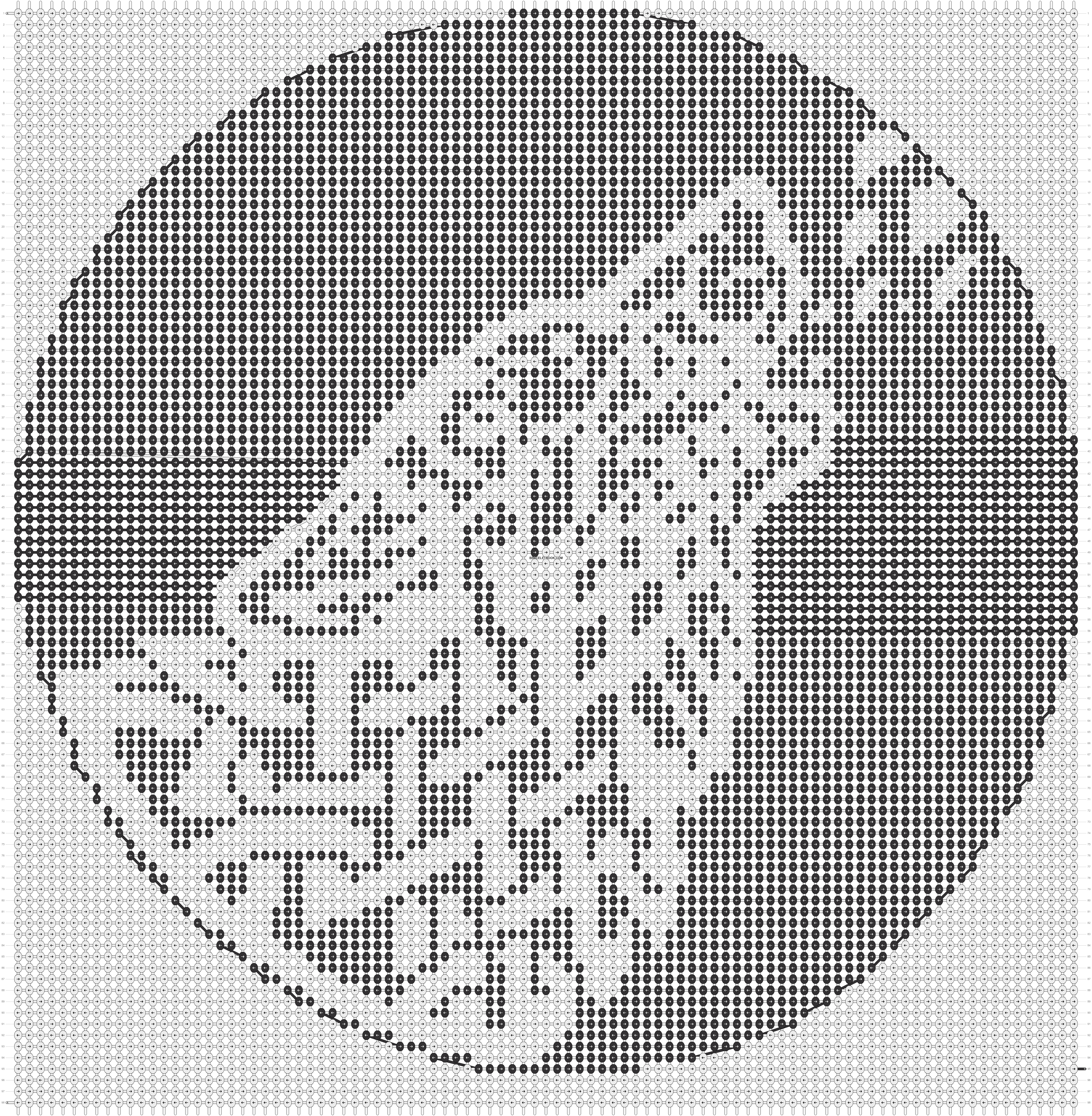 Alpha pattern #13571 pattern