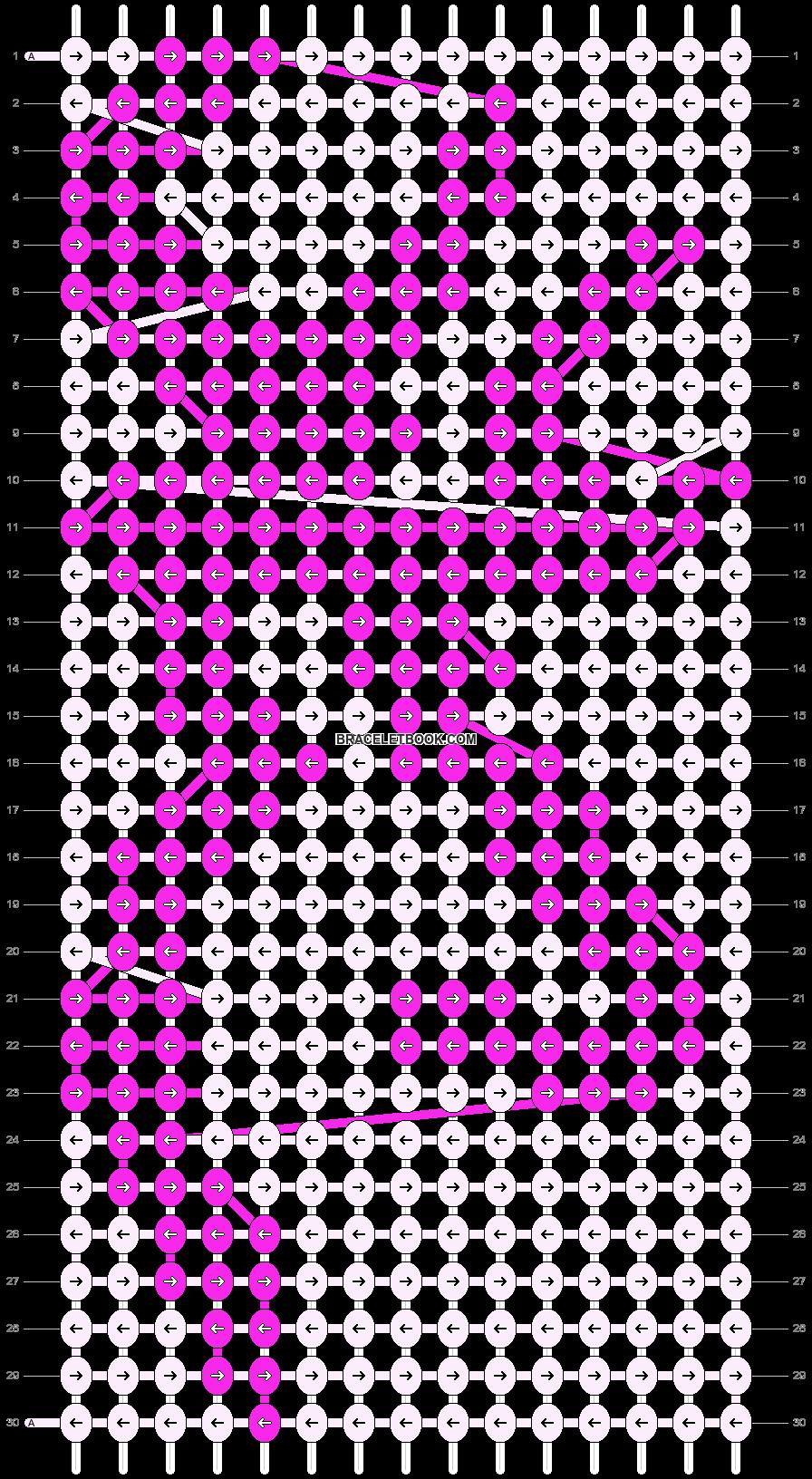 Alpha pattern #13573 pattern