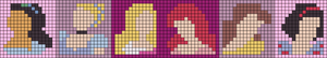 Alpha pattern #13580