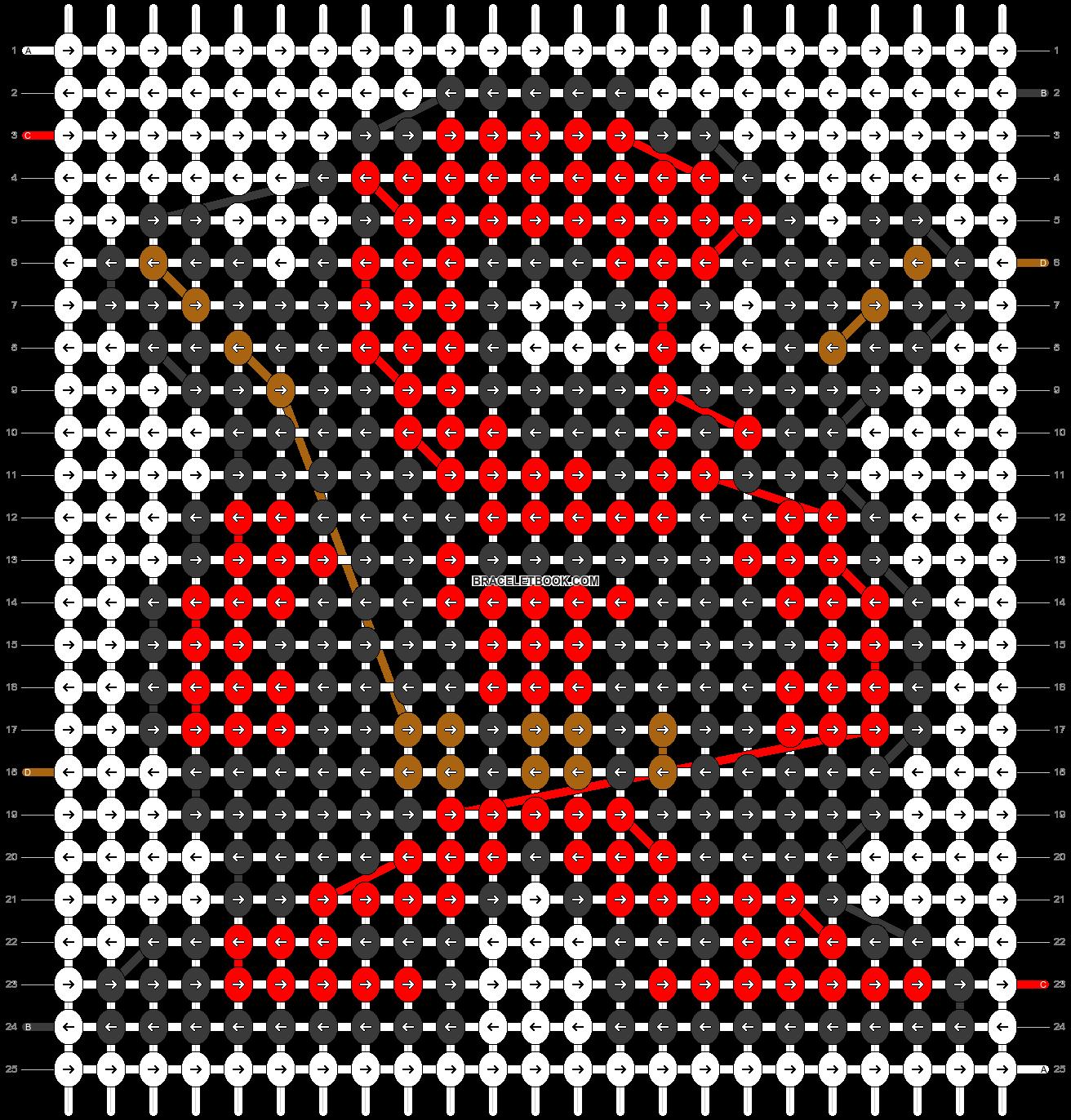Alpha pattern #13581 pattern